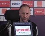 """CAN 2019 - Belmadi (Algérie) : """"On y a cru jusqu'au bout en restant dans le match"""""""