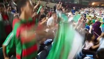 Fan reaction from Algiers after victory sees Algeria reach the AFCON final