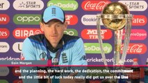 Morgan 'can't believe' England's World Cup win