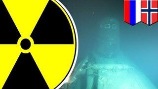 Sunken Soviet-era submarine found leaking radiation
