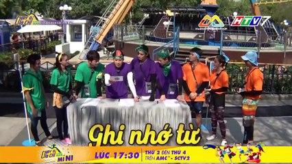 Running man Việt Nam - Chạy Đi Chờ Chi- Tập 14- Lan Ngọc đọ sức Voi Biển, Khủng Long