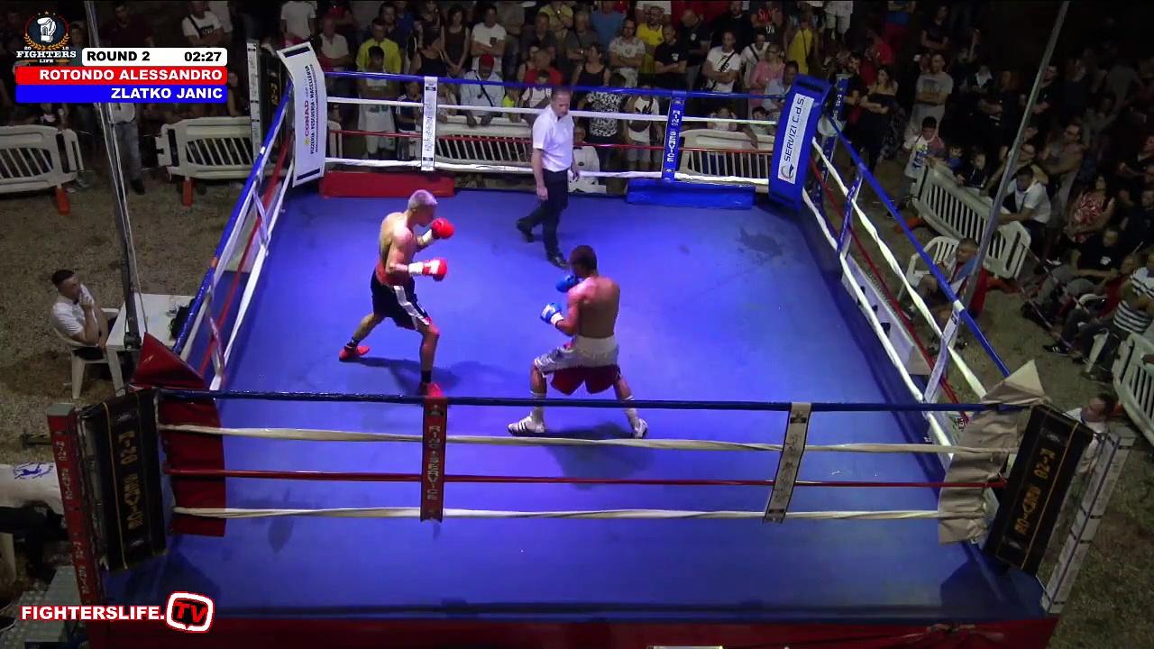 Alessandro Rotondo vs Zlatko Janjic (12-07-2019) Full Fight