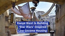 Kanye West Gets Inspired By Star Wars