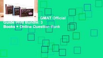 [NEW RELEASES]  GMAT Official Guide 2020 Bundle: 3 Books + Online Question Bank