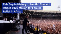 A Look Back At The Live Aid Concert