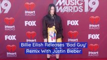 Check Out The Crossover Between Justin Bieber And Billie Eilish