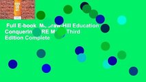 Full E-book  McGraw-Hill Education Conquering GRE Math, Third Edition Complete