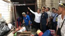 Manila Mayor Isko leads the clearing of city hall underpass