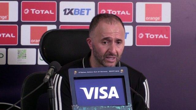 "Belmadi : ""les joueurs y ont cru jusqu'au bout"""