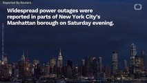 Manhattan Left In The Dark As Widespread Power Outages Sweep Borough