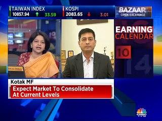 Expect market to consolidate at current levels, says Kotak MF's Harsha Updhyaya