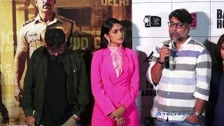 John Abraham, Mrunal Thakur & Nora Fatehi At Trailer Launch Of 'Batla House'