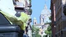 Rome croule sous les déchets... à tel point qu'elle risque la crise sanitaire