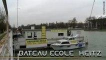 Bateau école Heitz à Reims dans la Marne 51