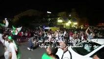 أمم إفريقيا 2019: احتفالات جزائرية بعد تأهل المنتخب إلى المباراة النهائية