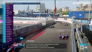 FIA Formula E -  Jean-Eric Vergne Wins Championship in New  York