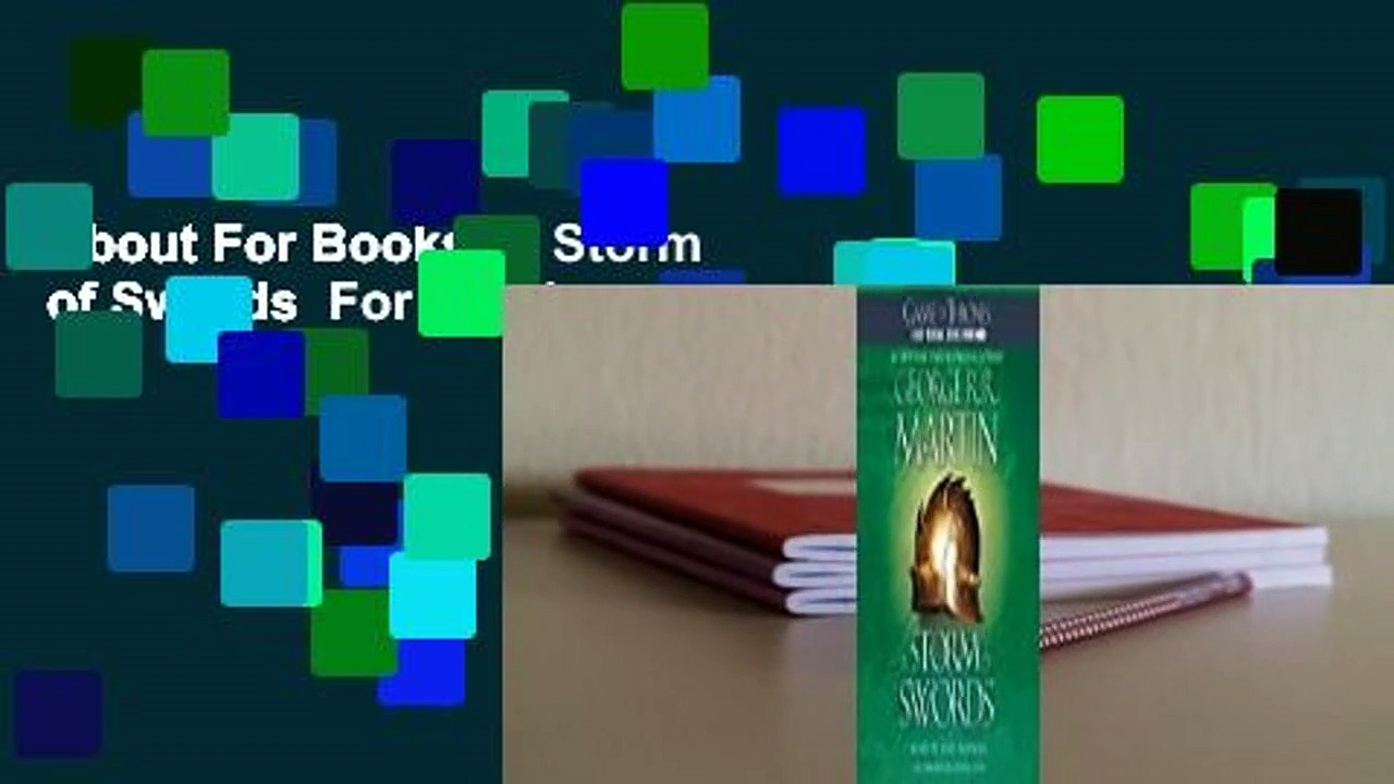 About For Books  A Storm of Swords  For Kindle