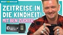 Ben Zucker wühlt in seiner Vergangenheit: Handy, Walkman und Kassette