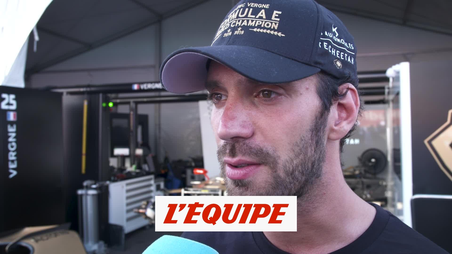 Vergne «Des moments forts en émotions» - Auto - Formule E