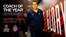 Alexander Gomelsky Coach of the Year: Dimitris Itoudis, CSKA Moscow