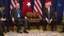 """Erdogan insta a Trump a alcanzar """"solución intermedia"""" a compra de misiles"""