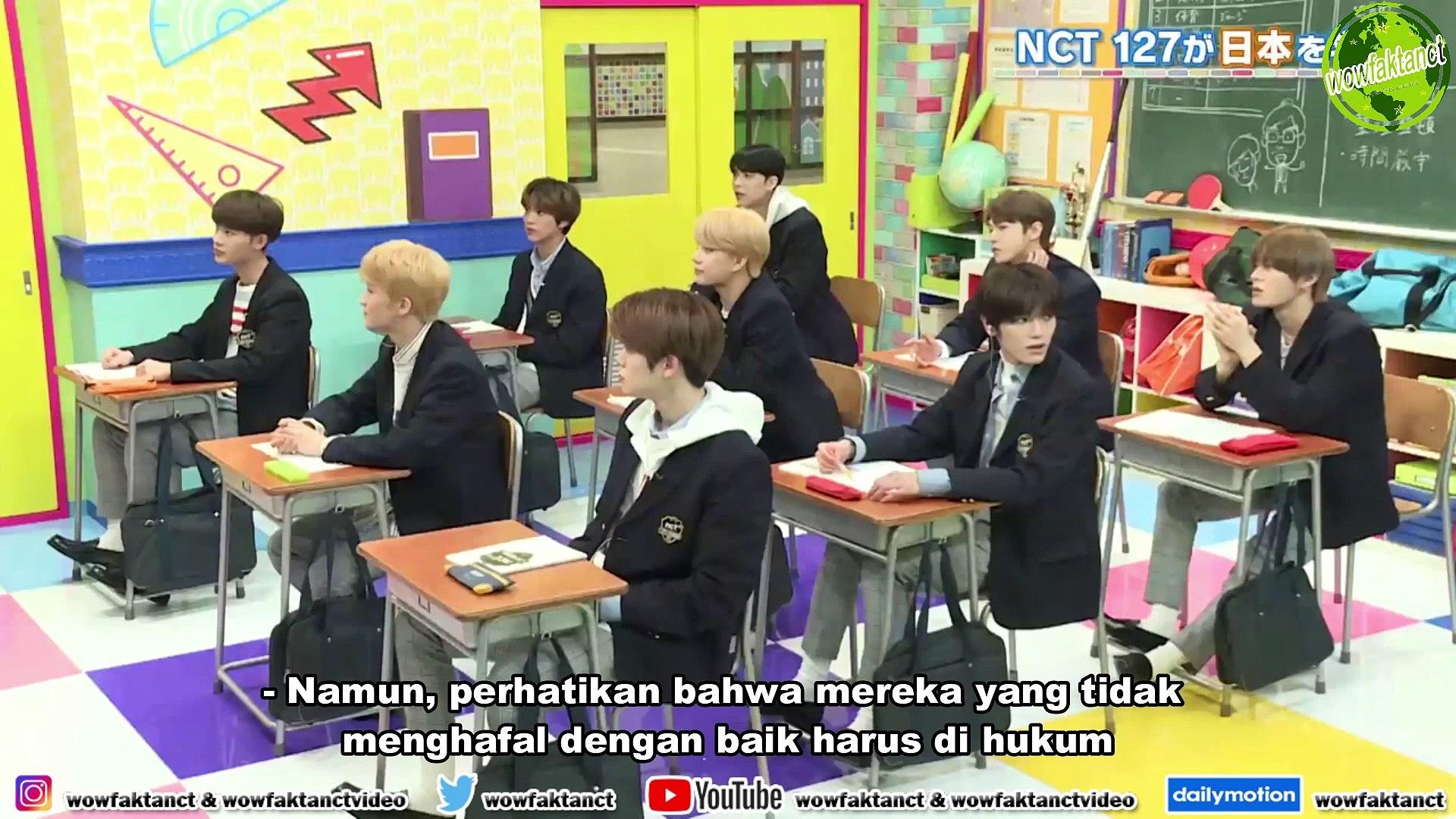 [INDO SUB] NCT 127 Teach Me Japan! Episode 1