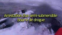 Arrestation d'ub semi-submersible bourré de drogue