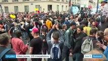 """Paris : les """"gilets jaunes"""" ont réussi à perturber le 14-Juillet"""