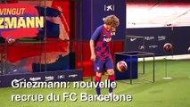 Football/Barcelone: Griezmann évoque son départ de l'Atletico