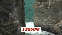 les plus belles images de l'étape libanaise - Adrénaline - Plongeon extrême