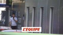 Neymar est de retour au Camp des Loges - Foot - L1 - PSG