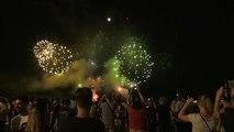 À Nice, premier feu d'artifice depuis l'attentat du 14 juillet 2016