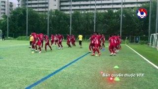 U15 Việt Nam thi đấu đầy tự tin trước đối thủ mạnh hơn về mọi mặt U18 HV Gamba Osaka | VFF Channel