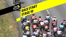Race Start  - Étape 10 / Stage 10 - Tour de France 2019