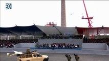 La espectacular actuación del soldado volador en el desfile del 14 de julio