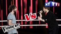 Marius VS Léman - « Sunday Bloody Sunday » (U2) | The Voice France 2017 | Battle