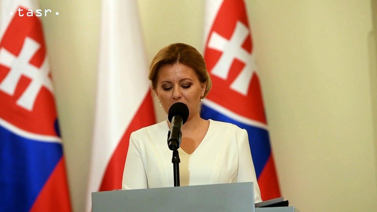 Z.Čaputová: Jednota NATO je potrebná aj vzhľadom na vzťahy s Ruskom