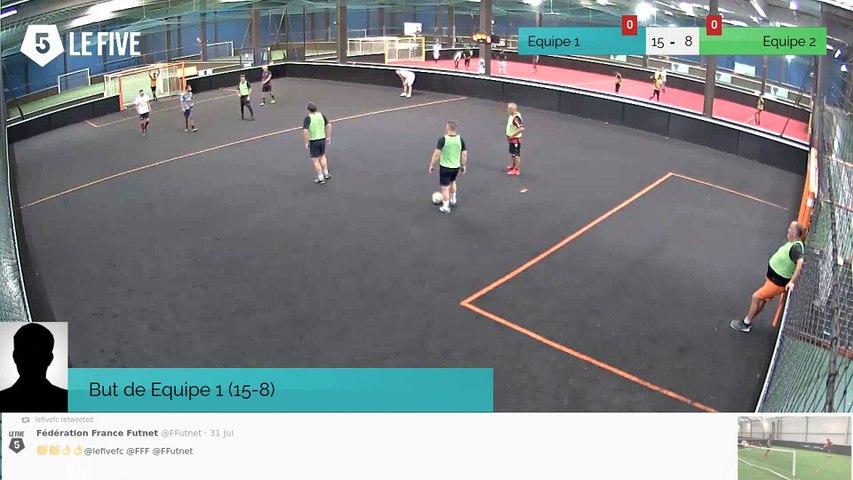 But de Equipe 1 (15-8)