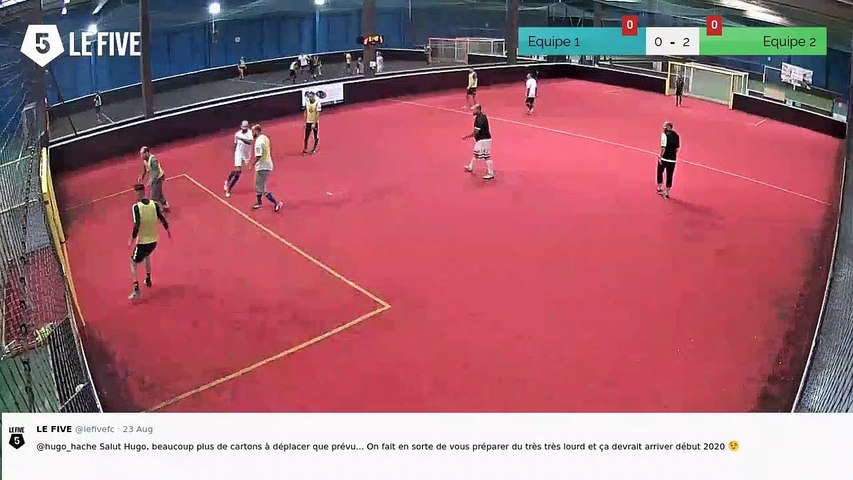 But de Equipe 2 (0-2)
