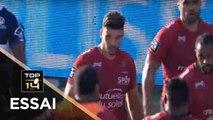 TOP 14 - Essai Julien HERITEAU 1 (RCT) - Agen - Toulon - J1 - Saison 2019/2020