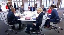 El menú del segundo día de la cumbre del G7: seguridad y comercio