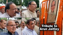 Tribute to Arun Jaitley