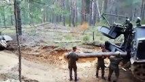 Comment réparer un char de l'armée russe ? Raté !