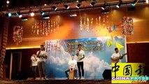文冬苏莱曼国中音乐晚会,唱奏舞全场嗨翻天。