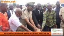 Côte d'Ivoire: Pose de la première pierre du grand marché de Sinfra