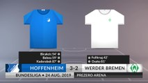 Match Review: Hoffenheim vs Werder Bremen on 24/08/2019