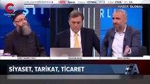 Canlı yayında Cübbeli Ahmet ile İsmail Saymaz arasında gerginlik!