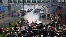Hong Kong : pavés et cocktails Molotov contre lacrymos et balles en caoutchouc