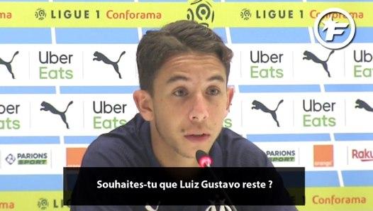 OM : Maxime Lopez s'exprime sur le potentiel départ de Luiz Gustavo