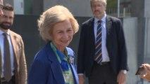 Doña Sofía visita al Rey Juan Carlos I tras su operación